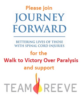Team Reeve Journey Forward Walk
